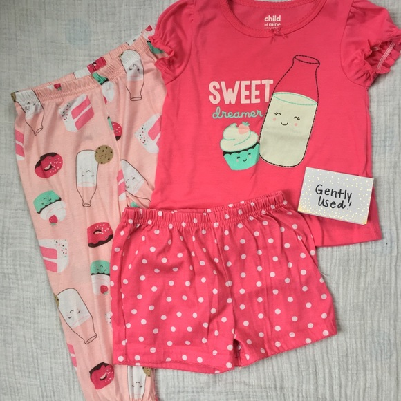 658e9b33a Carter's Pajamas | Carters 3 Piece Pjs Minor Flaw | Poshmark